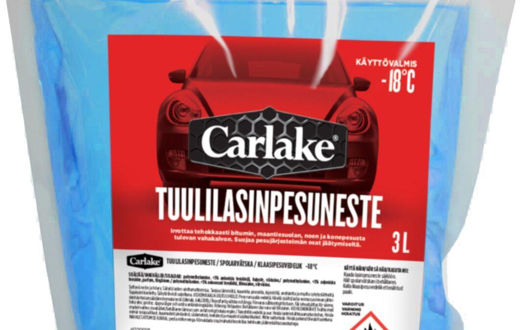 Takaisinveto Carlake Tuulilasinpesuneste -18°C 3L